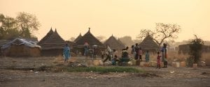 Photo of a Sudanese Village Suffering from Christian Persecution