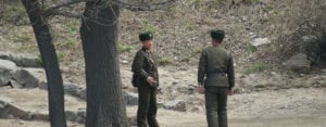 North Korea Christian Persecution is often committed by soldiers like this.