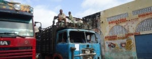 Photo of soldiers on trucks who commit Somali Christian Persecution