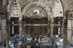 A photo of an Egyptian Church that has been attacked as a result of Christian Persecution