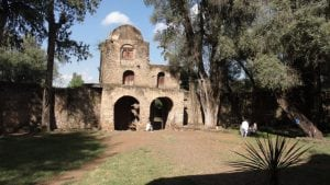 An old church in Ethiopia that exists despite Christian persecution.