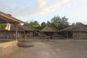 Indonesian village where Christian persecution is high.