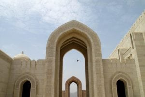 A structure in Oman where Christian persecution exists.