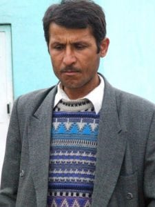 Photo of a man in Tajikistan. A country renown for its Christian Persecution.