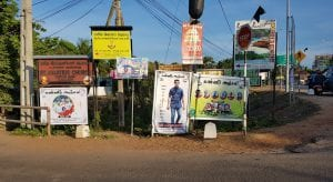 posters of victims of the Sri Lanka Easter sunday bombings