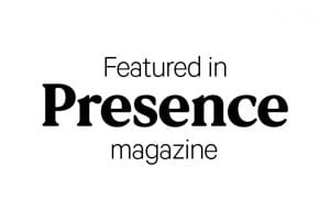 featured in presence magazine