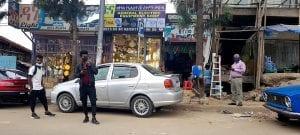 masked citizens of Addis Ababa