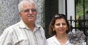 pastor Victor Bet-Tamraz and his wife Shamiram Issavi