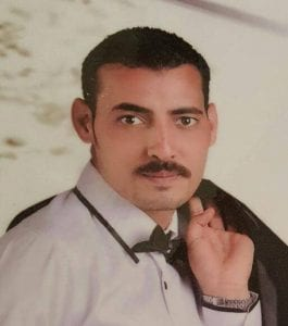 Photo of Osama, a kidnapped Christian in Egypt