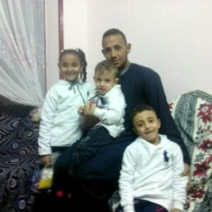 Photo of Youssef, a kidnapped Christian in Egypt
