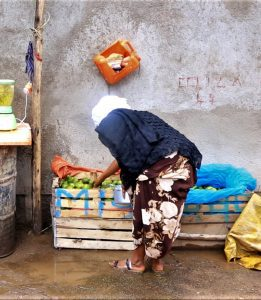 A woman in Ethiopia who received microloans from Open Doors partners